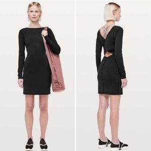 Lululemon   Contour Dress Nulu Black